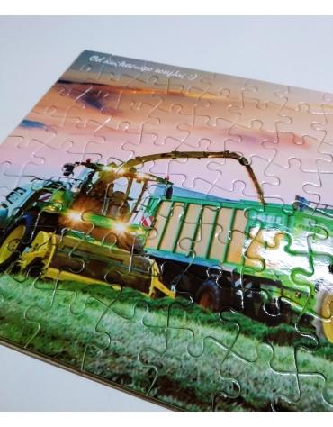 Puzzle z nadrukiem - 88 elementów