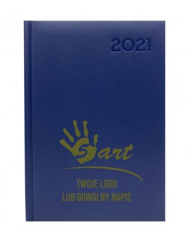 Kalendarz dzienny A5 T2021 z grawerem