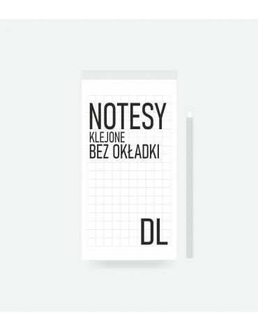 Notesy klejone bez okładki A5