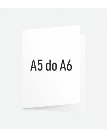 Ulotka składana A5 do A6
