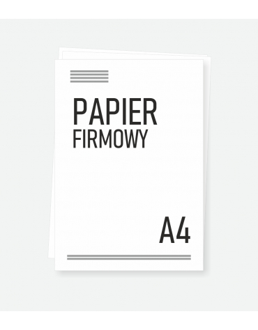 Papier firmowy A5
