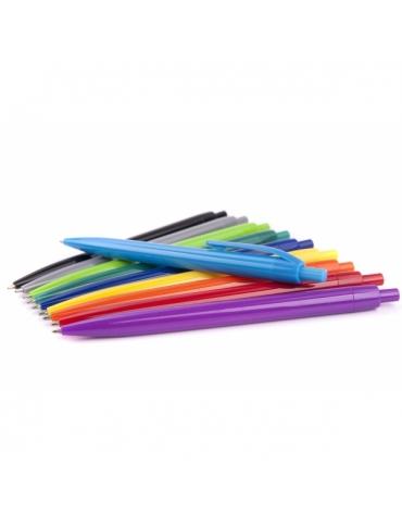Długopis plastikowy NETTO KOLOR - 100 szt.