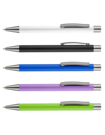 Długopis metalowy GOMA z grawerem - 100 szt.